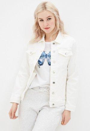 Куртка джинсовая Mavi KARLA. Цвет: белый