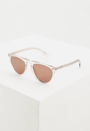 Очки солнцезащитные Burberry BE4281 37803G. Цвет: прозрачный