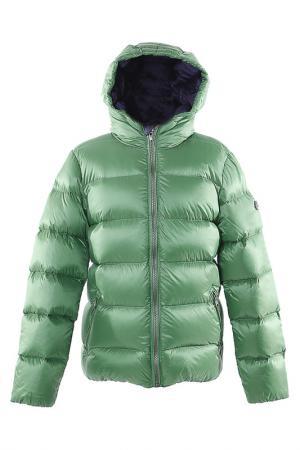 Куртка Canadiens. Цвет: зеленый