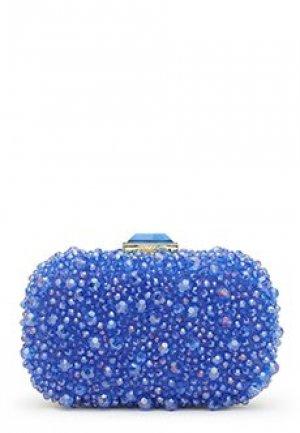 Клатч LUISA SPAGNOLI. Цвет: синий