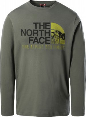 Лонгслив мужской Image Ideals, размер 44-46 The North Face. Цвет: зеленый