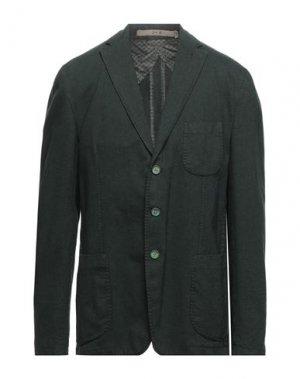 Пиджак JERRY KEY. Цвет: темно-зеленый