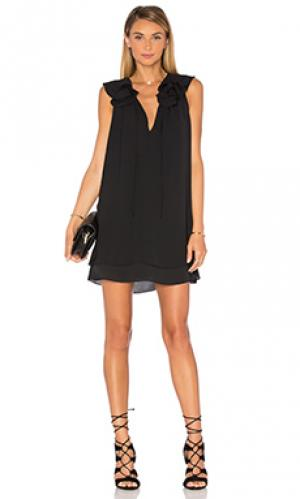 Платье belle Amanda Uprichard. Цвет: черный