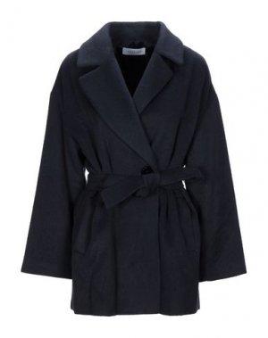 Пальто CARACTÈRE. Цвет: темно-синий