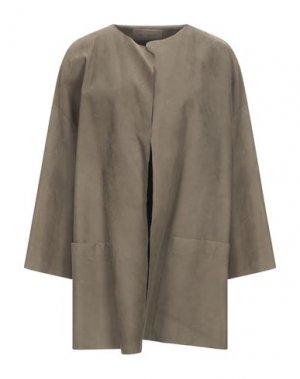 Легкое пальто IRIS VON ARNIM. Цвет: зеленый-милитари