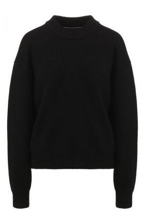 Шерстяной свитер Alexander Wang. Цвет: черный