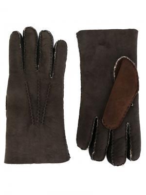 Перчатки Etro. Цвет: серый