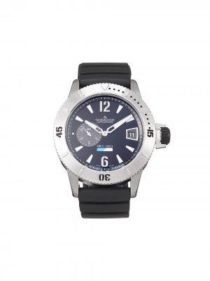 Наручные часы Master Compressor Diving GMT pre-owned 46 мм 2012-го года Jaeger-LeCoultre. Цвет: черный
