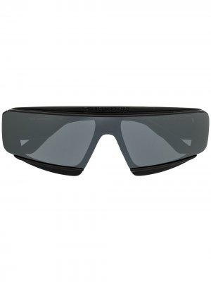Солнцезащитные очки Rue Saint Guillaume Karl Lagerfeld. Цвет: черный