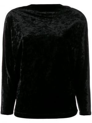 Блузка с доломанскими рукавами Plein Sud. Цвет: черный