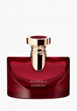 Парфюмерная вода Bvlgari Splendida Magnolia Sensuel, 100 мл. Цвет: прозрачный