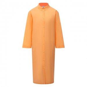 Платье Max Mara. Цвет: оранжевый