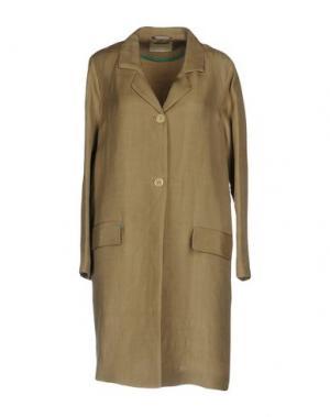 Легкое пальто MOMONÍ. Цвет: песочный