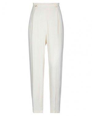 Повседневные брюки DES PETITS HAUTS. Цвет: слоновая кость