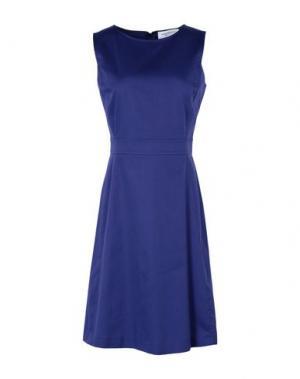 Короткое платье ANNA RACHELE. Цвет: синий