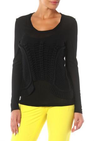 Пуловер OUI. Цвет: черный