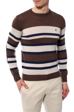 Пуловер Cerruti. Цвет: коричневый