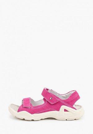Сандалии Elegami. Цвет: розовый