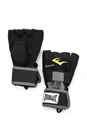 Перчатки Everlast Evergel. Цвет: черный
