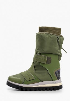 Сапоги adidas by Stella McCartney WINTERBOOT. Цвет: зеленый