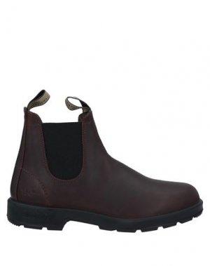 Полусапоги и высокие ботинки BLUNDSTONE. Цвет: какао