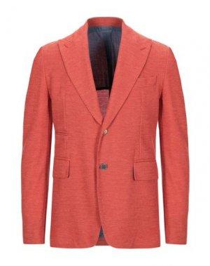 Пиджак JOHN SHEEP. Цвет: оранжевый