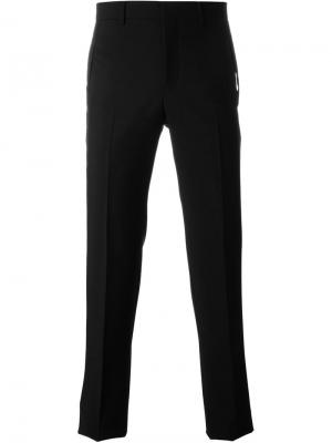 Классические брюки строгого кроя Givenchy. Цвет: чёрный