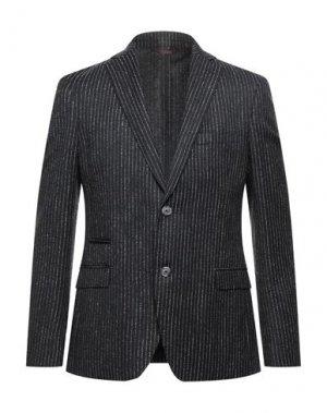 Пиджак JOHN BARRITT. Цвет: стальной серый