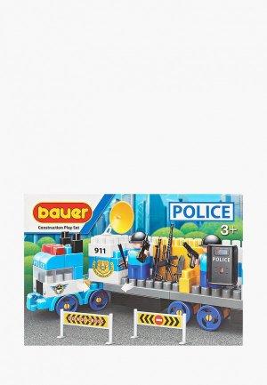 Конструктор Bauer Полиция. Цвет: разноцветный