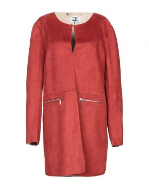 Легкое пальто BLUEFEEL by FRACOMINA. Цвет: ржаво-коричневый