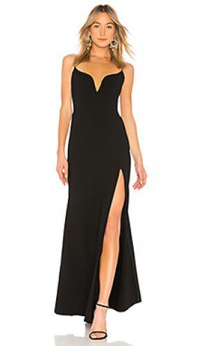 Вечернее платье JILL STUART. Цвет: черный