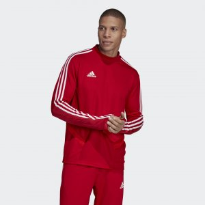 Джемпер Tiro 19 Performance adidas. Цвет: красный
