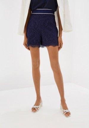 Юбка-шорты Karen Millen. Цвет: синий