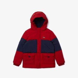 Верхняя одежда Куртка Lacoste. Цвет: многоцветный