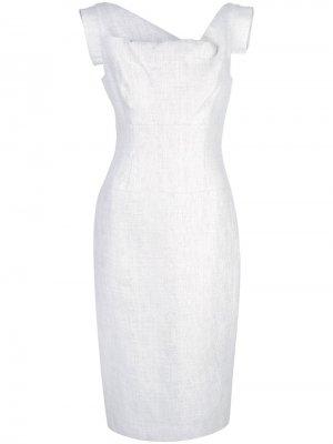 Платье с асимметричным вырезом Black Halo