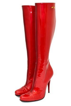 Сапоги Gerardina di Maggio. Цвет: красный