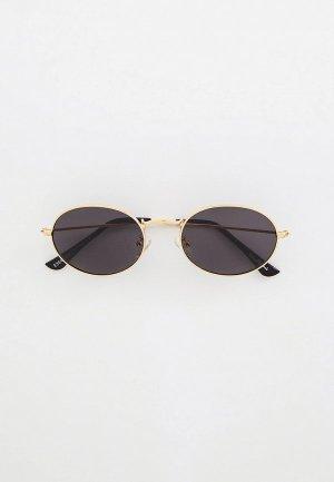 Очки солнцезащитные WOW Miami. Цвет: золотой