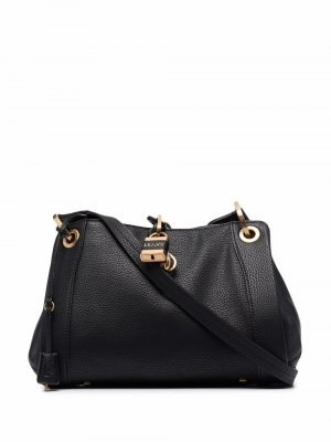 Padlock top-handle tote bag LIU JO. Цвет: черный