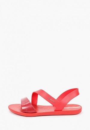 Сандалии Ipanema. Цвет: красный