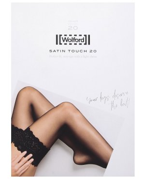 Чулки Satin Touch 20 WOLFORD