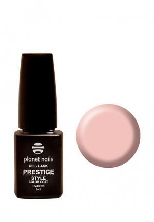 Гель-лак для ногтей Planet Nails PRESTIGE STYLE - 401, 8 мл персиковый. Цвет: розовый