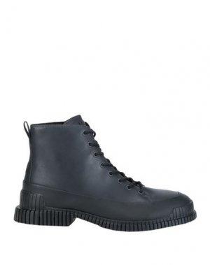 Полусапоги и высокие ботинки CAMPER. Цвет: свинцово-серый