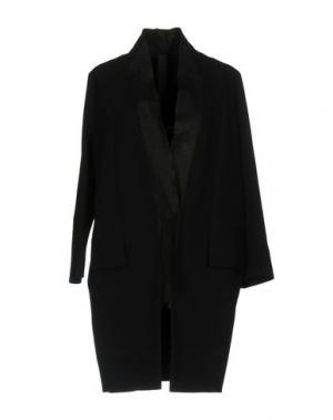 Легкое пальто ILARIA NISTRI. Цвет: черный