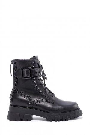 Кожаные ботинки Lewis Studs ASH. Цвет: черный