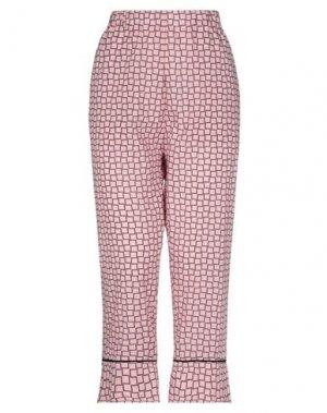 Повседневные брюки LA FABRIQUE. Цвет: розовый