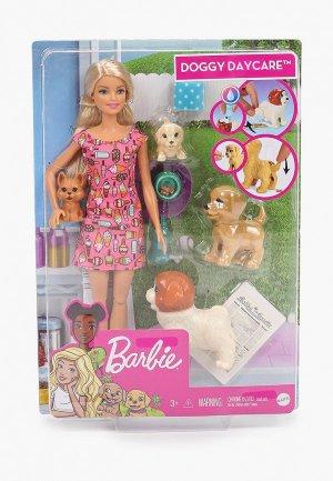 Кукла Barbie Barbie®  и щенки. Цвет: разноцветный