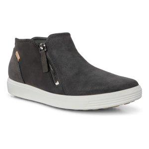 Ботинки SOFT 7 ECCO. Цвет: серый