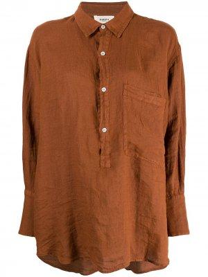 Рубашка с длинными рукавами Barena. Цвет: оранжевый