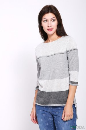 Пуловер Lecomte. Цвет: серый