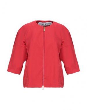 Пиджак GEOSPIRIT. Цвет: красный